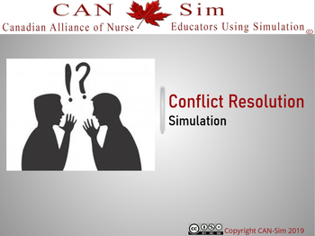 Leadership – Conflict Resolution