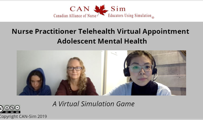 Telehealth NP Virtual Clinic Appointment – Pediatric Patient (COVID-19)