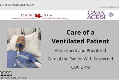 Care Of Patient On Ventilation