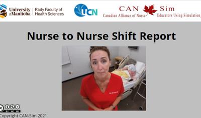 Nursing Shift to Shift Reporting