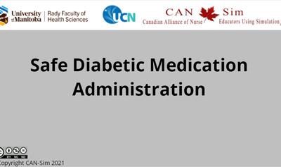 Safe Diabetic Medication Administration
