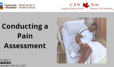 Conducting A Pain Assessment
