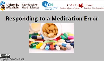 Responding To A Medication Error