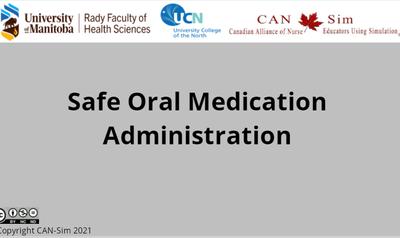 Safe Oral Medication Administration